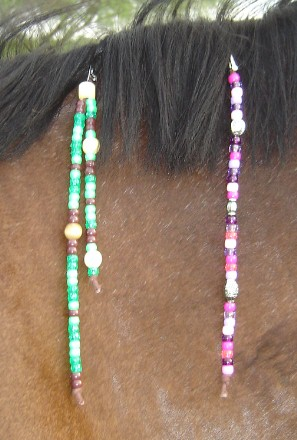 Mane and Tail Clips: Beads for Steeds - Rhythm Beads for Horses